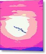Flying To Heaven Metal Print