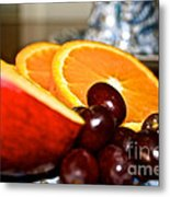 Focus Food Metal Print