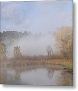 Foggy Morning  Metal Print