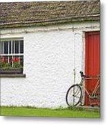 Folk Village Museum, Glencolmcille Metal Print