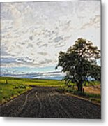 Follow The Clouds Metal Print