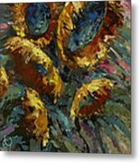 'follow The Sun 2' Metal Print by Michael Lang