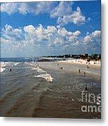 Folly Beach Charleston South Carolina Metal Print