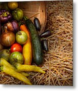 Food - Vegetables - Very Early Harvest Metal Print