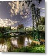Footbridge Over The Severn  Metal Print