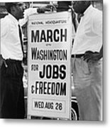 For Bayard Rustin 1912-1987, Here Metal Print by Everett