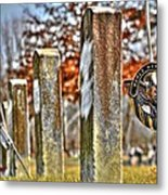 For Their Service Metal Print
