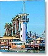 Forbes Island Lighthouse Metal Print