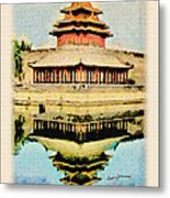 Forbidden City Metal Print