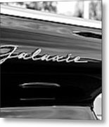 Ford Galaxie Metal Print
