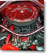 Ford Mustang Engine Bay Metal Print