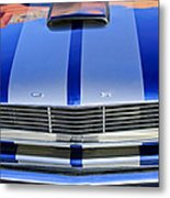 Ford Mustang Grille Metal Print