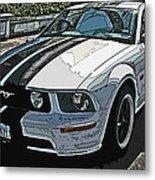 Ford Mustang Gt No. 2 Metal Print by Samuel Sheats