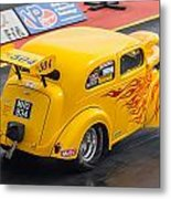 Ford Popular Drag Racer Metal Print
