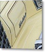 Ford Thunderbird Head Light Metal Print