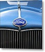 Ford Truck Emblem Metal Print