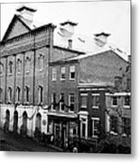Fords Theater - After Lincolns Assasination - 1865 Metal Print