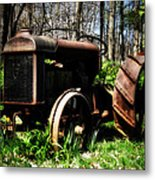 Fordson Tractor Metal Print