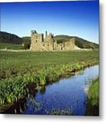 Fore Abbey, Co Westmeath, Ireland Metal Print