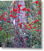 Forest Flowers Bhuping Palace Metal Print