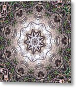 Forest Mandala 4 Metal Print