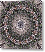 Forest Mandala 5 Metal Print