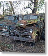 Forever Parked Metal Print