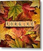 Forgive-autumn Metal Print