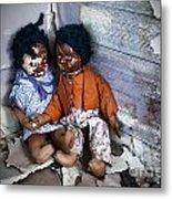 Forgotten Dolls Study IIi Metal Print by Norma Warden