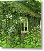 The Forgotten English Cottage Metal Print