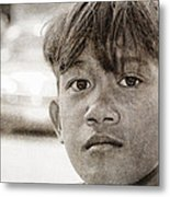 Forgotten Faces 16 Metal Print