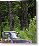 Forgotten Gmc Metal Print