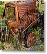 Forgotten Tractor 20 Metal Print