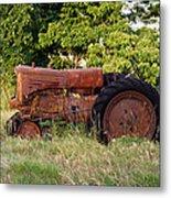 Forgotten Tractor 23 Metal Print