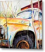 Forgotten Truck Metal Print