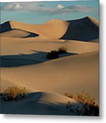 Form And Light At Death Valley Metal Print