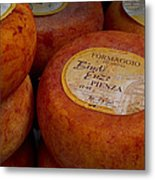 Formaggio Cheese Of Italy Metal Print by Roger Mullenhour