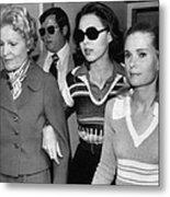 Former First Lady Patricia Nixon Metal Print