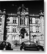 Former Kilmarnock Technical School And Academy Building Now Academy Apartments Scotland Uk Metal Print by Joe Fox