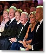 Former Presidents Bill Clinton Metal Print by Everett