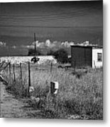 fort bravo former british military base now in the UN buffer zone in the green line dividing cyprus Metal Print