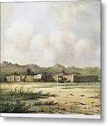Fort Bridger, Wyoming, 1852 Metal Print