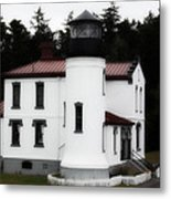 Fort Casey Lighthouse Metal Print