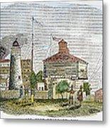 Fort Dearborn, 1830 Metal Print