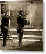 Fort Delaware Soldiers Metal Print