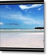 Fort Desoto Beach Metal Print