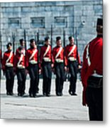 Fort Henry Guards Drill Metal Print
