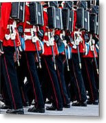 Fort Henry Guards Marching Metal Print