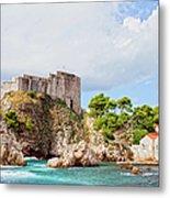 Fort Lovrijenac In Dubrovnik Metal Print
