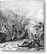 Fort Pillow Massacre, 1864 Metal Print